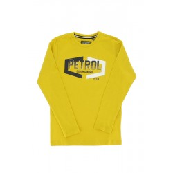 T-shirt M/L jaune - Pétrol