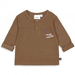 T-shirt Cool aventure brun...