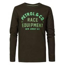 T-shirt Nek Forest - Pétrol