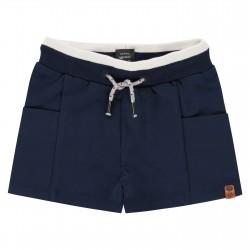 Sweat short avec poches -...
