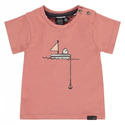 T-shirt oiseau pêcheur -...